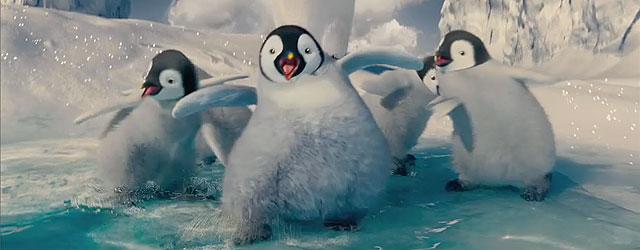 פינגווינים מרקדים! שוב!