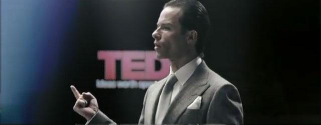 """מנכ""""ל תאגיד וויילנד, שנראה דומה מאוד לגאי פירס, רוצה לקחת אותנו אל העתיד"""