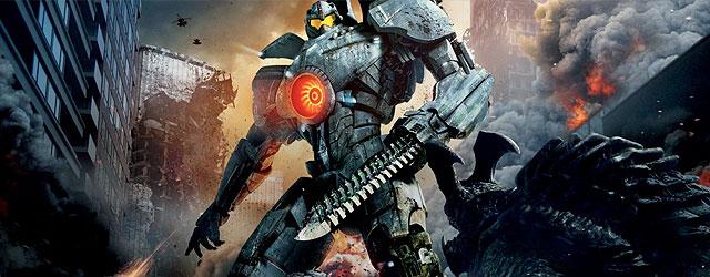 רובוטים ענקיים נלחמים במפלצות עצומות ורון פרלמן שם. כן, זה מגניב כמו שזה נשמע, אם לא יותר