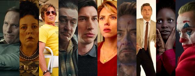הג'וקר או המלכה, השחקן או הפעלולן, דה נירו או דאוני ג'וניור - סקר הופעת השנה 2019 יוצא לדרך.