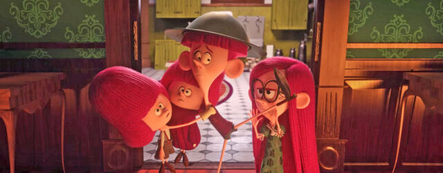 סרט על חשיבותה של משפחה, חוץ מהחלק הזה של הורים.